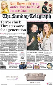 The Sunday Telegraph (UK) Newspaper Front Page for 26 February 2017