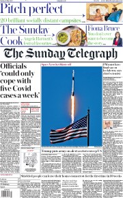 The Sunday Telegraph front page for 31 May 2020