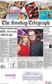 The Sunday Telegraph (UK) Newspaper Front Page for 4 March 2018