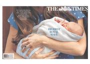 The Times (UK) Newspaper Front Page for 24 July 2013