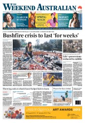 Weekend Australian (Australia) Newspaper Front Page for 19 October 2013