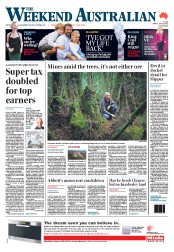 Weekend Australian (Australia) Newspaper Front Page for 28 April 2012