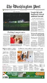 Front Page of Washington Post newspaper from Washington</a> <!--DON