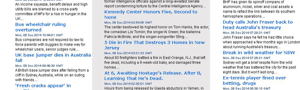 Latest World News Headlines